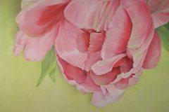 Öl- + Acryl Lotti Haerdi Tulpe
