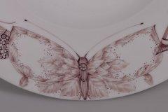 Porzellanmalen Lotti Haerdi  Schale Schmetterlinge 1